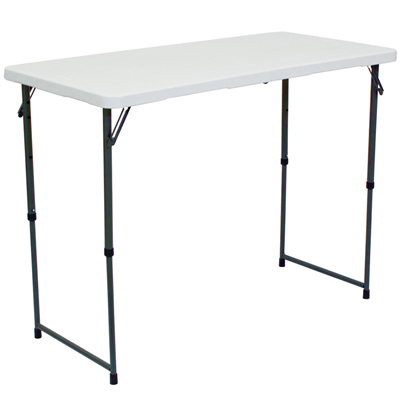 4' Rectangular Folding Table