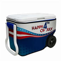 40 Quart Wheeled Cooler Wrap