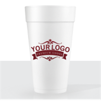 20 oz Foam Disposable Cups