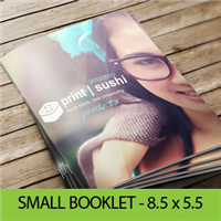 "Small Booklets (8.5"" X 5.5"")"