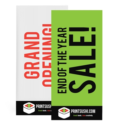 Retractable Banner Replacement Graphics