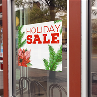 Holiday Window Signs