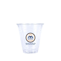 16 oz Printed Clear Plastic PET Cup