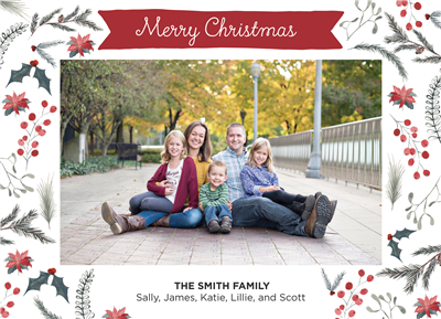 Christmas Cards Style 5 (5x7)