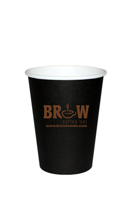 8 oz Black Hot Cup