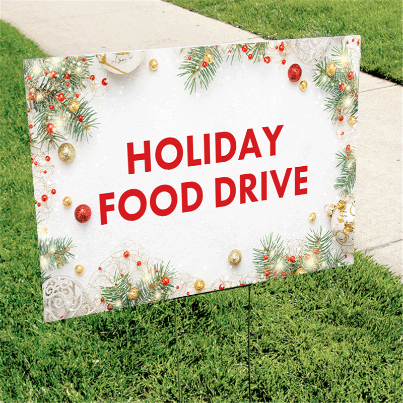 Large Outdoor Christmas Signs Of Yard Sign Lawn Yard Sign Printing