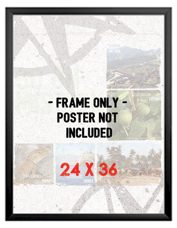 the front load snap frame is perfect for advertising for events businesses promotions and conferences the 24 x 36 frame is lightweight professional