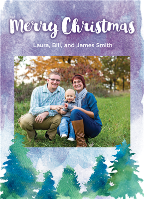 Christmas Cards Style 1 (5x7)