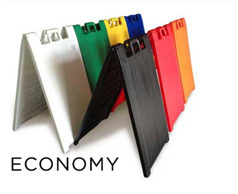 economy a frame sidewalk signs