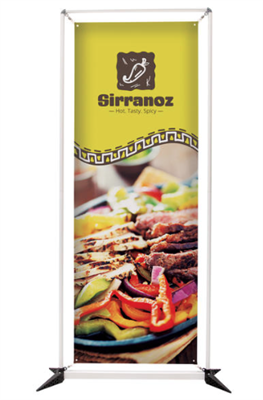 Rectangular Banner Frame Display