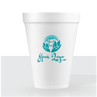 12 oz Foam Disposable Cups