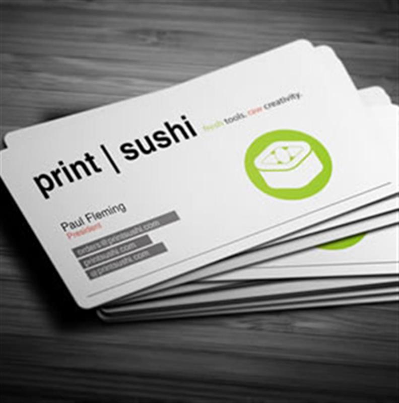 Pearl Metallic Business Cards